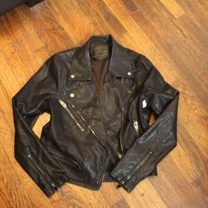NWT Blank NYC Leather Jacket size M